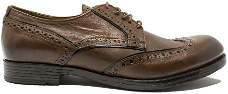 HUNDrosso 100 Scarpe da Uomo Eleganti Classiche Francesine Derby in Pelle Cuoio Formale M574-03 | Prezzo speciale  | Uomo/Donne Scarpa
