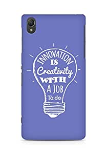 Amez Innovation is Creativity with a Job to do Back Cover For Sony Xperia Z2