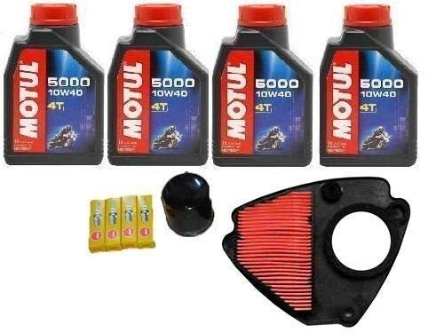 MGM Tecneco Kit Honda VT 600 Shadow Huile motul Filtre huile Air 4 bougies 98