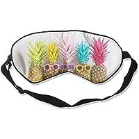 Colorful Pineapple 99% Eyeshade Blinders Sleeping Eye Patch Eye Mask Blindfold For Travel Insomnia Meditation preisvergleich bei billige-tabletten.eu