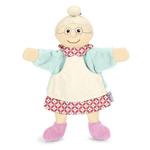 Sterntaler 3601613 - Handpuppe Oma, rosa/mint