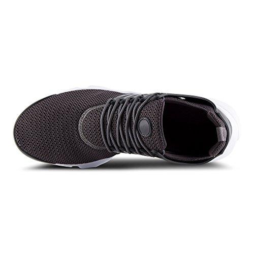 FiveSix Herren Sneaker Sportschuhe Laufschuhe Freizeitschuhe Textilschuhe Camouflage Schnürschuhe Low-Top Schuhe Schwarz/Weiss