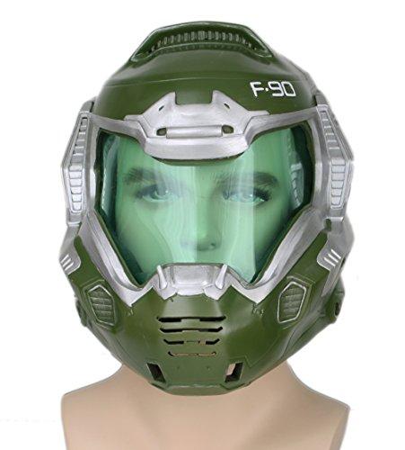 Xcoser Guy Helm Deluxe Cosplay Kostüm Harz Voll Kopf Maske Verrücktes Kleidung Replik Merchandise für Herren ()