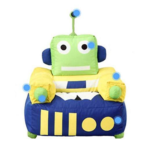 Robot Enfants Canapé de Bande Dessinée Enfant Siège Maternelle Bébé Petit Canapé Paresseux Créatif Loisir Chaise Personnalité Tissu 52 * 65 * 75 cm