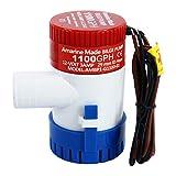 FreeTec Pompa di sentina 1100GPH 12V Bilge plastica sommergibile Acqua Pompe