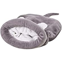Funihut Cama Gato Saco de Dormir para Animales Compagnie Cama de Historieta de algodón para Chein