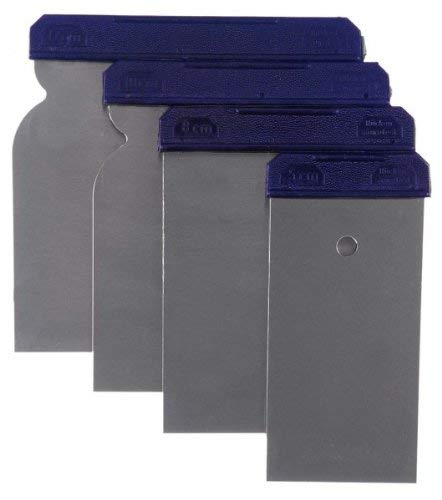 Japan-Spachtel-Satz Metall 4tlg. 50-80-100-120mm