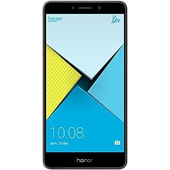 Honor 6X Smartphone 4G LTE, Diplay 5.5 pollici FHD, Dual SIM 32 GB ROM, 3 GB RAM, Dual Camera 12 Megapixel, Sensore Fingerprint, Android, Grigio
