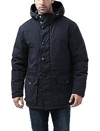 BGSD Men's Tommy Hooded Waterproof Down Parka Coat