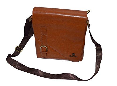 Leatherette Office & Messenger Bags Leatherette Messenger Bag/Sling Bag