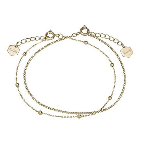 Cluse Damen-Kettenarmband Messing CLJ11010
