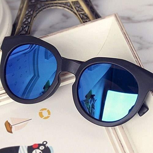 CYCY Koreanische Kindersonnenbrille Flut Junge Mädchen Sonnenbrille Augenschutz Baby Brille Kinderspiegel 1-7 Jahre 1376 Kinder Brille [schwarzer Rahmen grün] Spiegeltasche Spiegeltuch @ 1376 childre