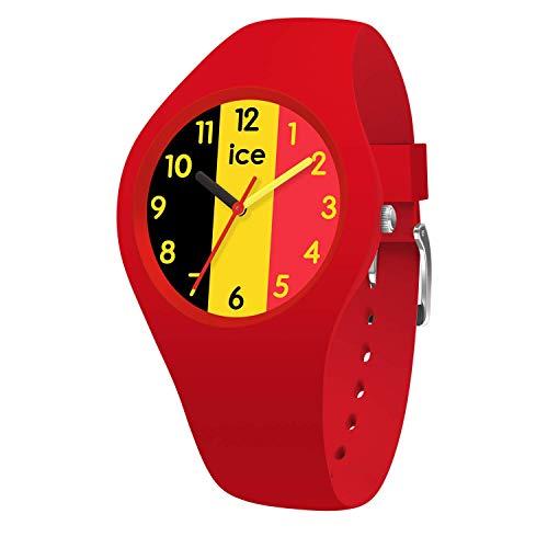 Ice-Watch - Ice World Ola Belgium - Orologio Rosso Da Donna Con Cinturino In Silicone - 015737 (Small)