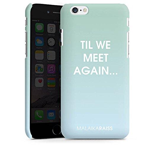 Apple iPhone X Silikon Hülle Case Schutzhülle Spruch Farbverlauf Mint Premium Case matt