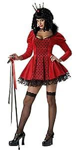 California Costumes Dark Queen Of Hearts Adult Halloween Costume Size Medium