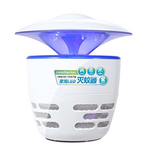 Fotocatalizador de LED para el hogar Mosquitto Killer, Bug Zapper, Ultra silencioso, sin radiación, sin productos químicos Asesino electrónico profesional para interiores de insectos (enchufe de CC, a