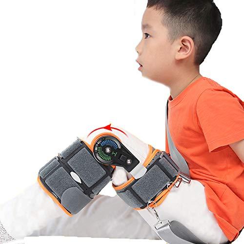 AOPAWOX Kniebandage für Kinder, Unterstützung für Arthritis, Gelenkschmerzen, Sehnen, Bänder, Kreuzband, Einstellbarer Stabilisator für die orthopädische Unterstützung nach der Operation