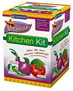 Chatsworth Grow Your Own Mexican Seed Kit (B007E23SJM) | Amazon Products