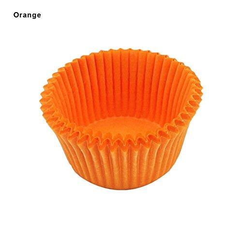 (Mini Backförmchen Liner, 100bunt Kuchen Fettdichte, unten Maffin Fällen daifuku Paper Cup Dekorieren Werkzeuge Geschenk)