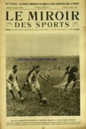 MIROIR DES SPORTS (LE) [No 81] du 19/01/1922