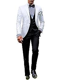 8903b51dfec1 Suit Me Herren 3 Teilig Anzug Smoking Business B¨¹ro Anzug Fuer Hochzeiten  Party Sakkos