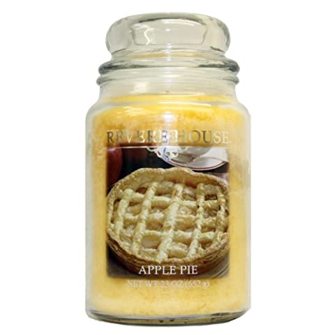 Candle Lite 23 oz Country Comfort Jar Candle, Apple Pie