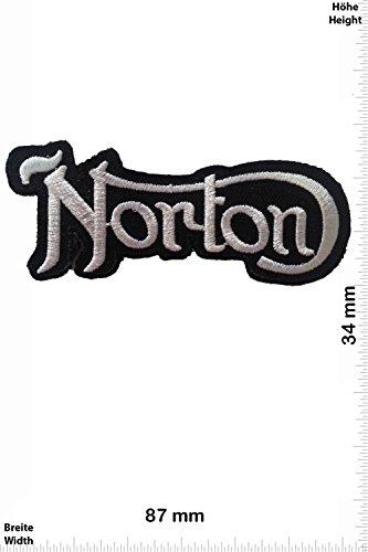 Parches - Norton - Silver/Black - Deportes de Motor - Deportes -...