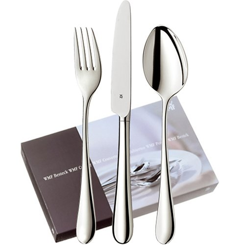WMF-1040006063-Silber-Besteck-Merit-basic-set-24-teilig