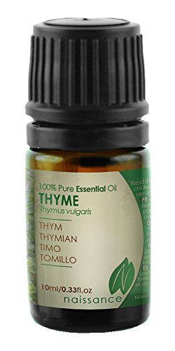 Naissance Olio essenziale di Timo – Olio essenziale puro al 100% - 10ml
