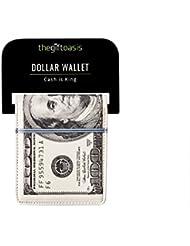 Portefeuille billet de 100 dollars $ américains fantaisie cadeau