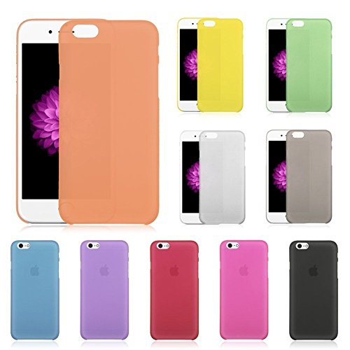 "Coque Bumper Cover iPhone 6 / 6s ( 4,7 pouces ) 4.7"" - fin mat ultra mince et ultra leger THEcoque DESIGN case - Rouge ROUGE"