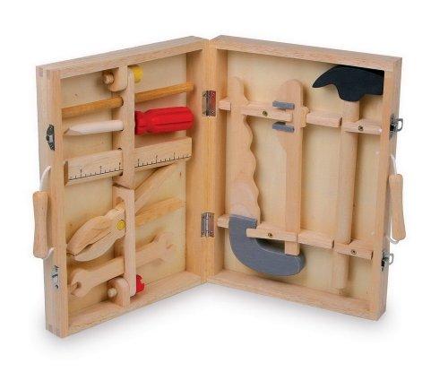 Small Foot Company 2479 - Caja de herramientas de madera Importado de Alemania