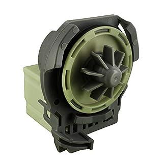 Europart Non Original Whirlpool Drain Pump Base Fits Fagor LFU/Bauknecht_ADP/GSF/GSX/Ignis ADL/ADG/ADP/G2 Series