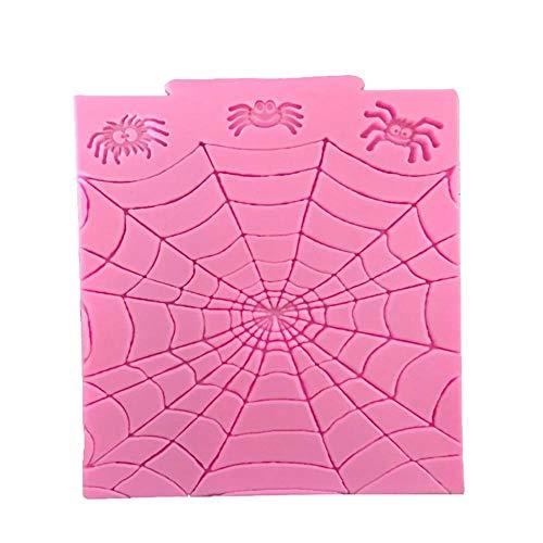 HAHAJY Cobweb Silikonform Fondant Handwerk Polymer Clay Harz Ton Kuchen Formen Kuchen Dekorieren Tools, 1