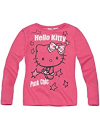 Hello Kitty Fille Tee-shirt manches longues 2016 Collection - fushia