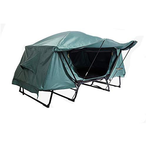 DERYANM Outdoor Camping Doppelzelt Strandzelt Tragbares Mehrzweck-Angelzelt außerhalb des Geländes Regensicher-Double