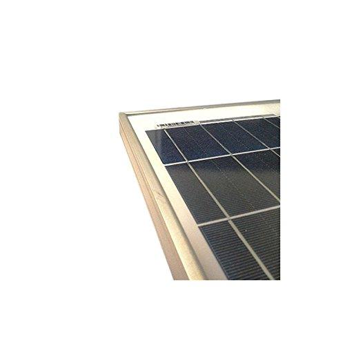 Solarmodul Photovoltaik 130W 12V Polykristallines Installation Camper Boot Hutte - 2