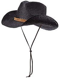 dd63120e04f54 Sombrero Unisex De Vaquero En Forma De Paja con Fashion Sombreros Sombrero  De Verano para Hombre