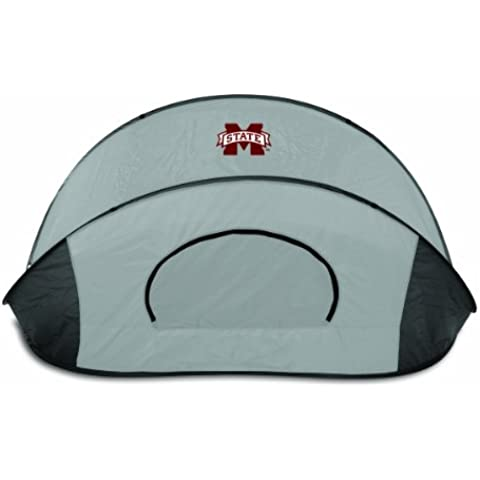 NCAA Mississippi State Bulldogs Manta Portable Pop-Up Sun/Wind Shelter by Picnic Time