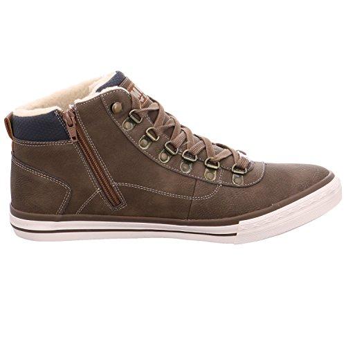 Mustang Herren 4103-601-3 Hohe Sneaker Braun (Braun)