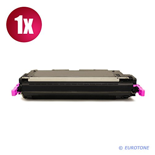 C9733a Magenta Remanufactured Toner (1x Eurotone Remanufactured Toner für HP Color LaserJet 5500 5550 HDN DN N DTN ersetzt C9733A 645A)