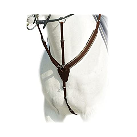 Prestige D41Special Jump Color Tobacco Leather Breastplate size Full