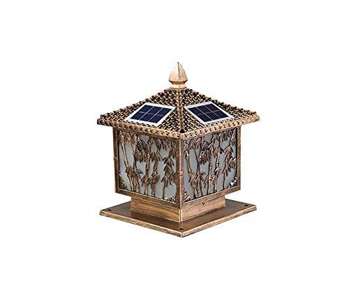 Retro Lichtoutdoor Wandleuchte Solar Community Square Villa Yard Landschaft Führte Hof Außenwandleuchte 30 * 38 * 20 Cm [Energieklasse A +]