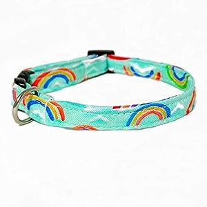 Katzenhalsband – Regenbogen