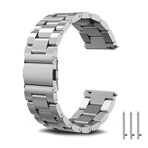 Omicton (22mm Universal Armband, aus Metall, Edelstahl, für Samsung Gear S3starp, 4.92-8.66Für Damen und Herren mit für Gear S3klassische Smart-Armbanduhr, Fitness-Werkzeug-Set.