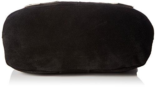 Werner Trachten Damen Trachtentasche Umhängetaschen, 27x24x10 cm Schwarz (999)