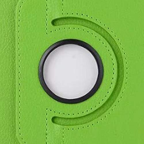 GOGODOG LG G Pad F 8.0 Hülle Ultra dünn Stoßstange Ganzkörper Schutz Leder Drehbar Halterung Schutzhülle Tablet Halter Shell Protector LG V495 V496 (Grün)