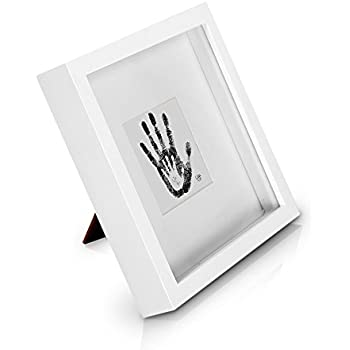 White 3d Deep Box Picture Frame Display Memory Box For