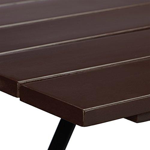 Relaxdays Gartentisch klappbar aus Massivholz