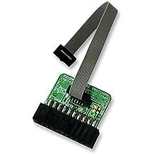 "Software & Depurador Herramientas–Emulador de Depurador & JTAG Herramienta Accesorios–ADPTR JTAG 0.1""20pin–10pin 0,05""–arm-jtag-20–10"